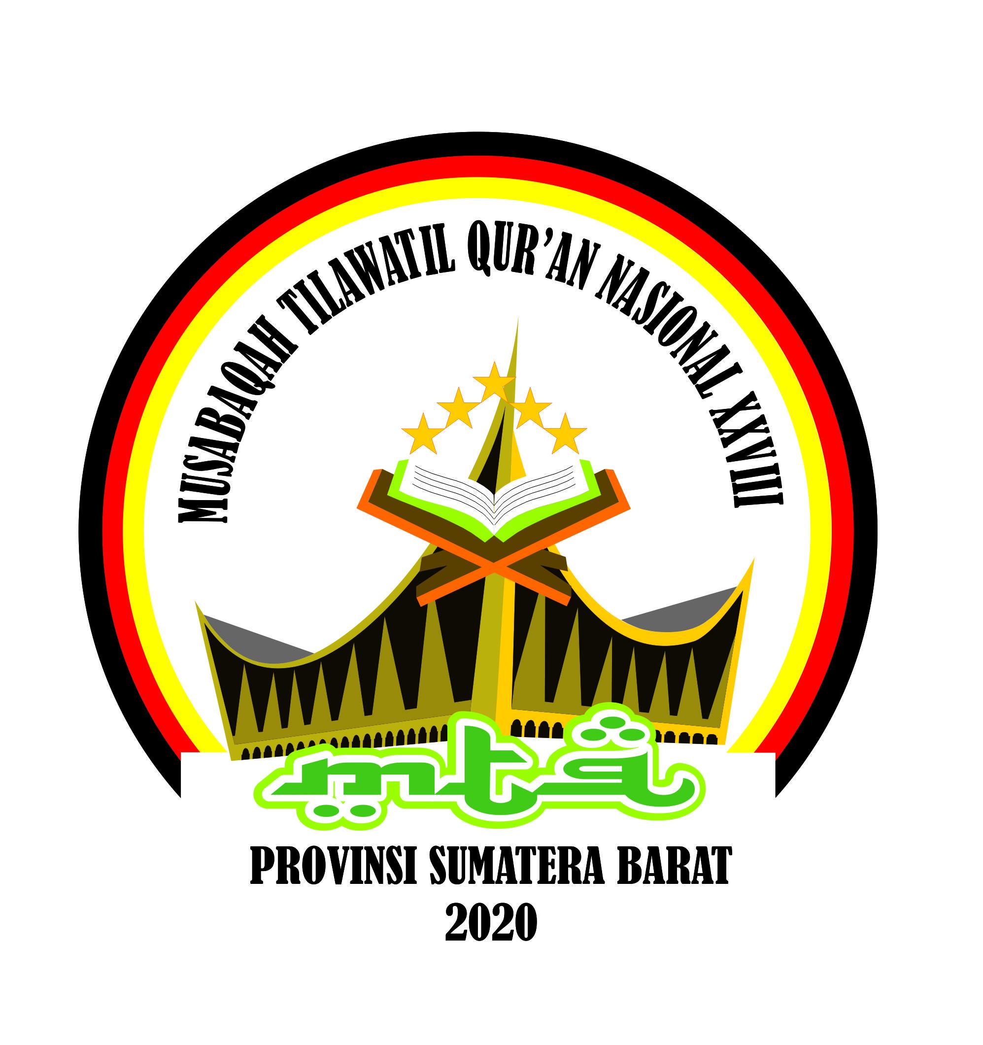 Logo MTQ Nasional XXVIII Tahun 2020 Sumatera Barat